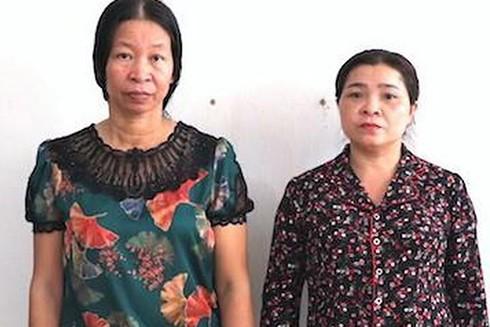 Lê Thị Yến và Nguyễn Thị Linh