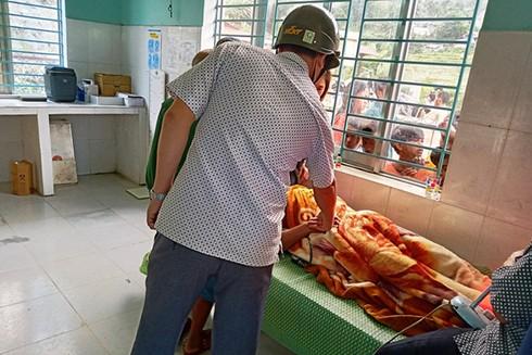 Những người bị thương sau vụ sét đánh hiện đang được điều trị