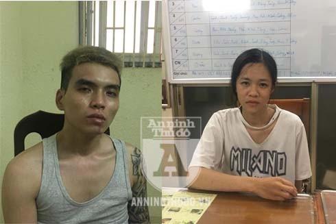 Nguyễn Tuấn Phong và Phạm Thị Dung
