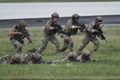 Mỹ cử lượng binh sỹ lớn nhất tới châu Âu tham gia tập trận