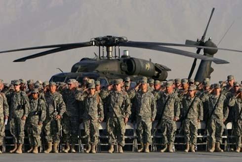 Lính Mỹ ở Afghanistan (Nguồn: Daily Mail)