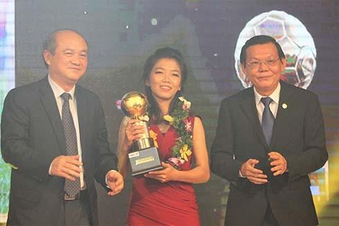 Nữ cầu thủ Huỳnh Như là ứng viên danh sách Công dân tiêu biểu TP.HCM