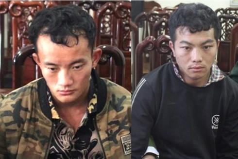 Hai đối tượng người Lào buôn bán trái phép ma túy bị bắt giữ