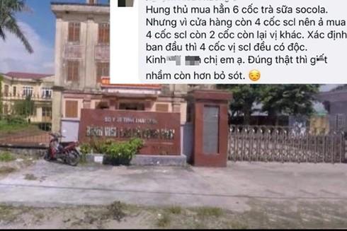 Hiện Công an tỉnh Thái Bình đã tạm giữ nghi phạm phục vụ điều tra