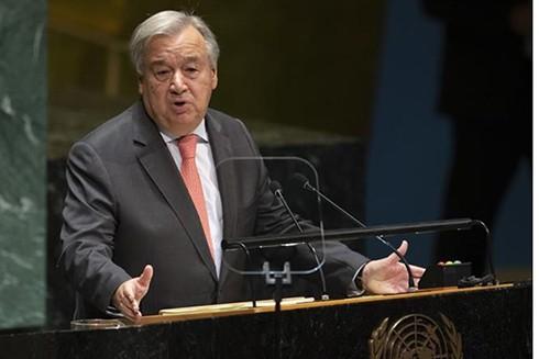 Tổng Thư ký Liên hợp quốc Antonio Guterres. (Nguồn: AFP/TTXVN)