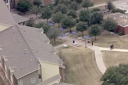 Một vụ nổ súng xảy ra tại ký túc xá trường Đại học Texas A&M ở thành phố College Station thuộc bang Texas của Mỹ sáng 3-2. Ảnh: insider.com