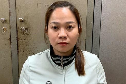 Nữ nhân viên massage Võ Anh Thảo