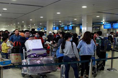 Các chuyến bay từ Hàn Quốc sẽ không được đón tại sân bay Nội Bài và Tân Sơn Nhất