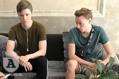 Anders và Sofus, hai du khách người Na Uy chia sẻ, họ cảm thấy rất an toàn khi đến Việt Nam bởi dịch bệnh được khống chế nhanh chóng