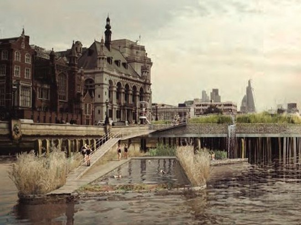 Dự án xây bể bơi 10 triệu bảng Anh giữa lòng sông Thames ảnh 2