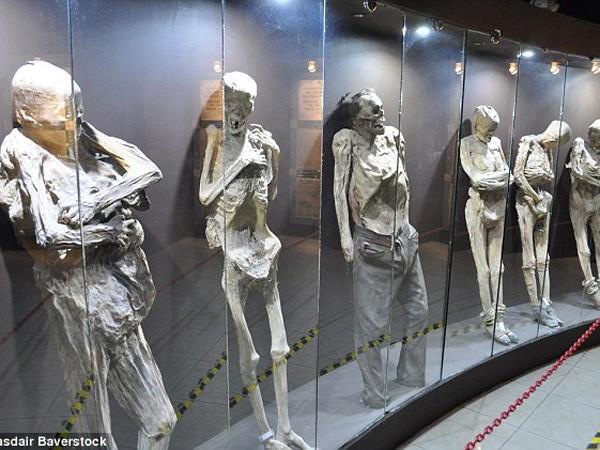 Sự rùng rợn ở bảo tàng xác ướp Guanajuato ảnh 1