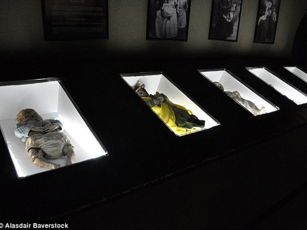 Sự rùng rợn ở bảo tàng xác ướp Guanajuato ảnh 7