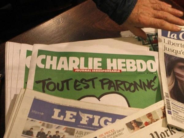 Charlie Hebdo ngừng phát hành vì những lời đe dọa? ảnh 1