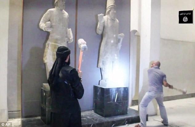 IS đã phá hoại nhiều công trình văn minh của nhân loại