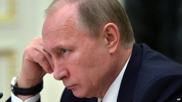"""Tổng thống Putin đã mô tả sự sụp đổ của Liên Xô như một """"thảm họa địa chính trị lớn"""""""