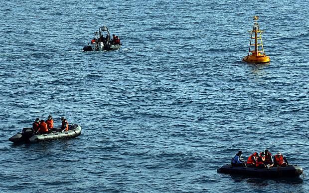 Nhiều quốc gia đã tham gia tìm kiếm các nạn nhân trên máy bay QZ8501