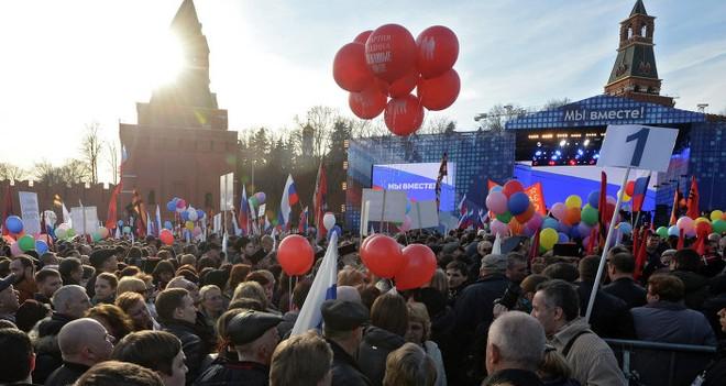 Hơn 350.000 người tham gia lễ kỷ niệm sáp nhập Crimea ảnh 4