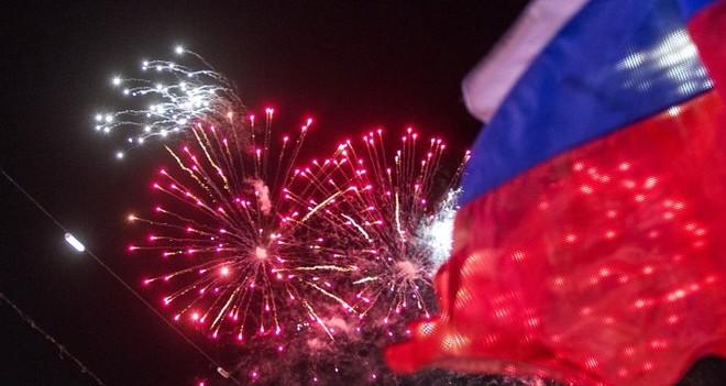 Hơn 350.000 người tham gia lễ kỷ niệm sáp nhập Crimea ảnh 6