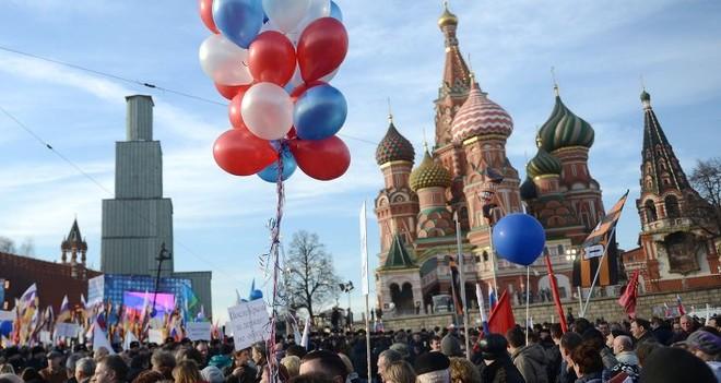Hơn 350.000 người tham gia lễ kỷ niệm sáp nhập Crimea