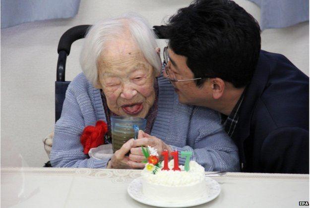 Cụ bà Okawa- người sống thọ nhất thế giới qua đời ở tuổi 117 ảnh 2