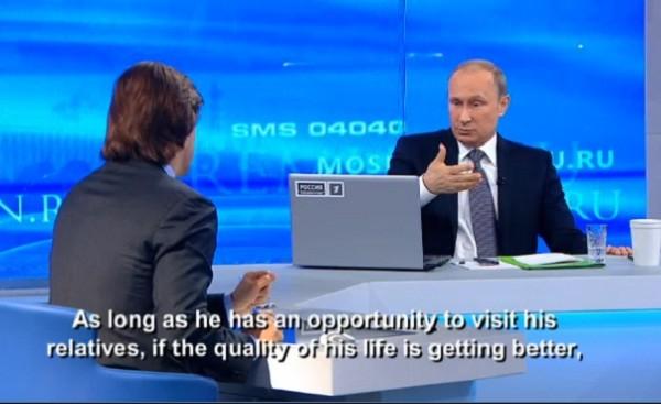 Tổng thống Putin đối thoại: Phương Tây phải tôn trọng Nga ảnh 1