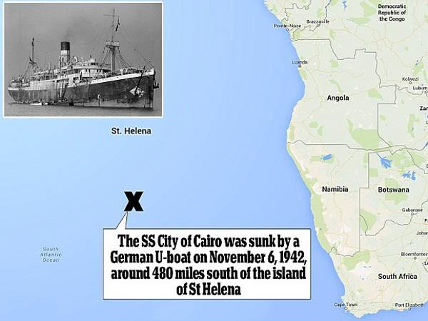 Trục vớt kho báu khổng lồ ở độ sâu hơn 5.000m sau 73 năm ảnh 1