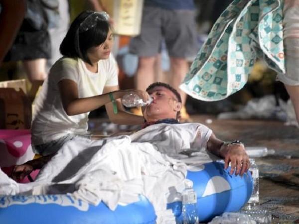 Vụ cháy nổ công viên nước Đài Loan: Số người bị thương tăng lên 516 trường hợp ảnh 1