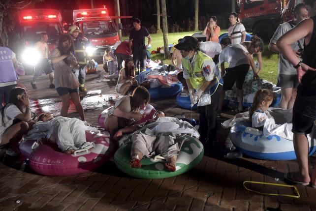 Vụ cháy nổ công viên nước Đài Loan: Số người bị thương tăng lên 516 trường hợp ảnh 4
