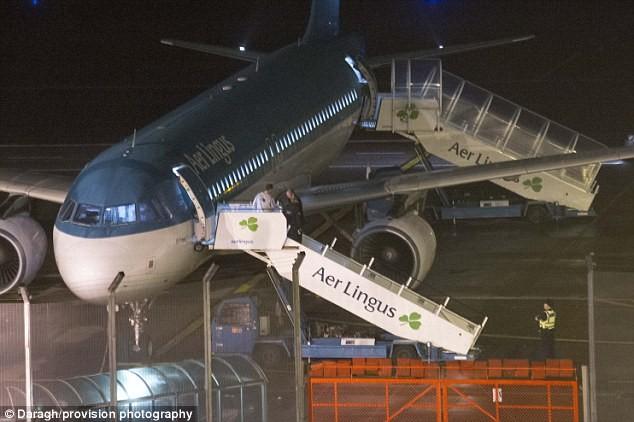 Máy bay của hãng hàng không Aer Lingus đã phải hạ cánh sau 40 phút cất cánh