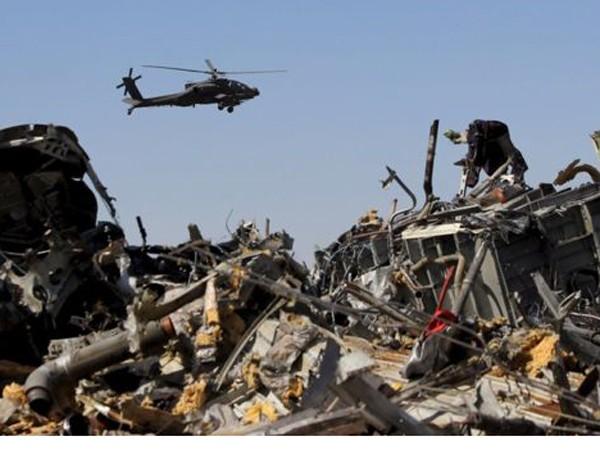 Máy bay Nga rơi ở Ai Cập đã vỡ tan từ trên không? ảnh 1