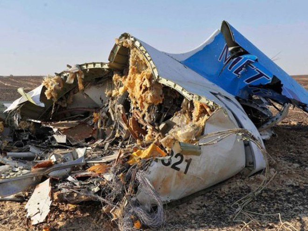 Máy bay Nga rơi ở Ai Cập đã vỡ tan từ trên không? ảnh 2