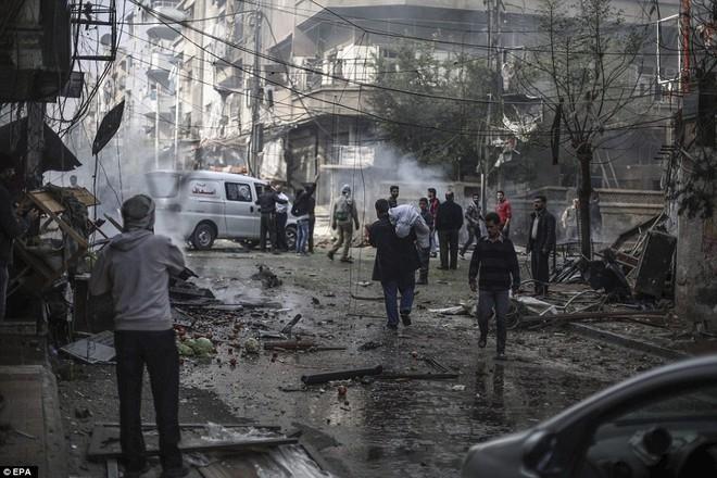 Đài quan sát nhân quyền Syria nghi ngờ máy bay Nga thực hiện cuộc không kích này