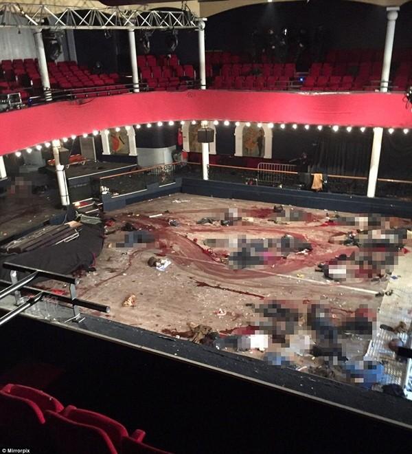 Hình ảnh khủng khiếp bên trong phòng hòa nhạc sau vụ tấn công khủng bố Paris ảnh 1