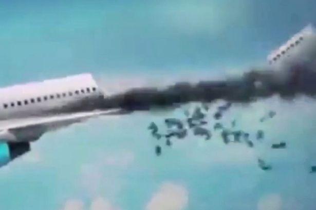 Máy bay Nga bị đặt bom ngay trong khoang chính, dưới ghế hành khách ảnh 2