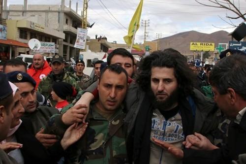 Một binh sĩ Lebanon được trả tự do
