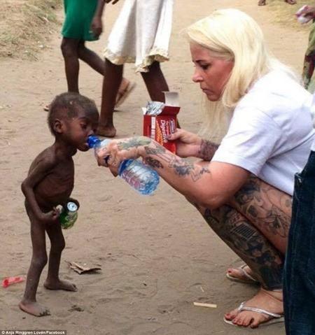 Bức ảnh này đã khiến hàng triệu người trên thế giới phải xúc động
