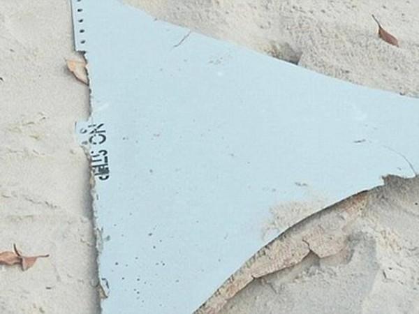 Một mảnh vỡ kim loại màu trắng được tìm thấy tại bãi biển Mozambique hôm 29-2