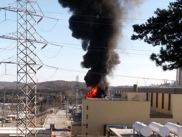 Nhà máy điện hạt nhân bốc cháy nghi ngút tại Nam Carolina, Mỹ ảnh 2
