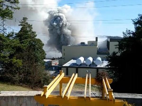 Nhà máy điện hạt nhân bốc cháy nghi ngút tại Nam Carolina, Mỹ ảnh 1