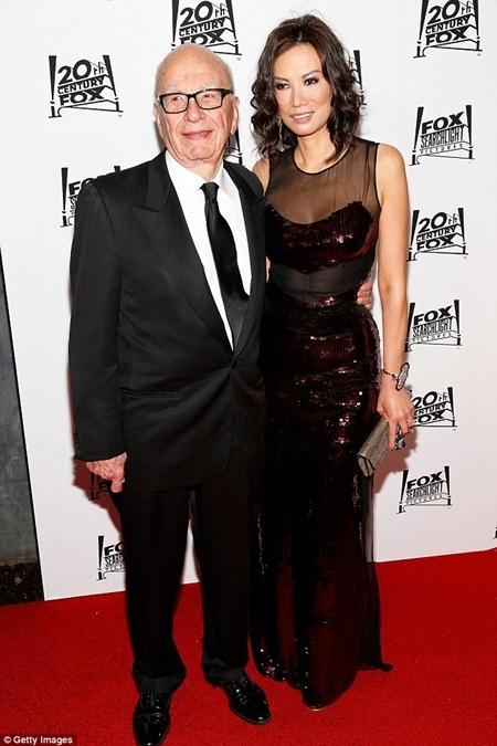 Bà Wendi và ông Murdoch ly hôn vào tháng 6-2013