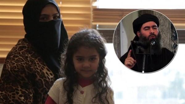 Vợ cũ và con gái 8 tuổi của trùm thủ lĩnh IS