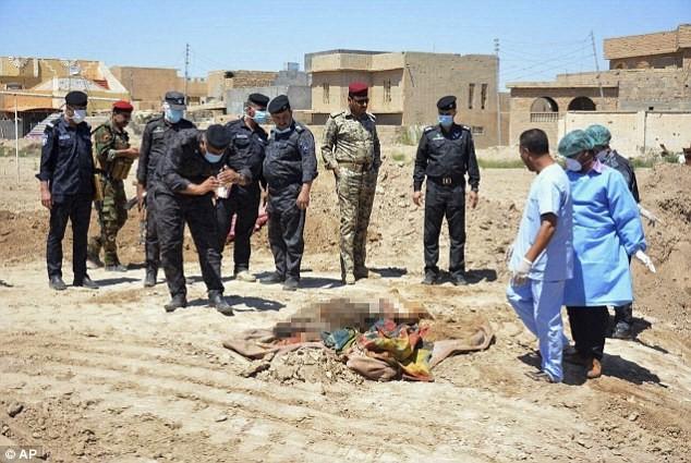 Nhiều mộ tập thể chôn nạn nhân bị IS giết hại đã được tìm thấy tại Iraq, trong đó nhiều thi thể bị lấy mất thận và tim