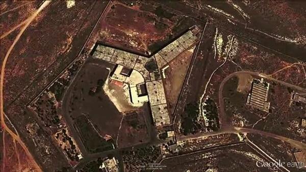 Nhà tù quân sự Saydnaya được coi là một trong những nhà tù khét tiếng bậc nhất Syria