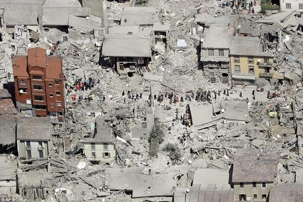 Nhiều ngôi làng dường như bị xóa sổ hoàn toàn