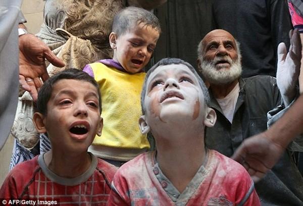 Trẻ em Syria là đối tượng chịu nhiều tổn thương nhất trong cuộc nội chiến kéo dài 5 năm