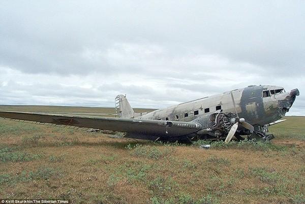 Chiếc máy bay Douglas C-47 do Mỹ sản xuất gặp nạn năm 1947 do thời tiết xấu
