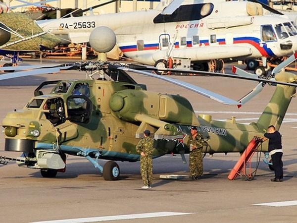 """Nga trang bị thêm """"giáp laze"""" và tên lửa cho """"Thợ săn đêm"""" Mi-28NM ảnh 1"""
