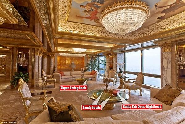 Bên trong căn hộ tầng 66 trên tháp Trump giá 100 triệu USD của ông Donald Trump ảnh 2