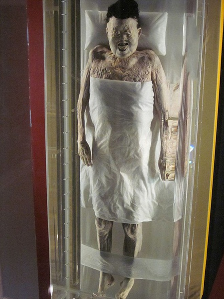 Đây là xác ướp được bảo quản tốt nhất từ trước đến nay tại Trung Quốc