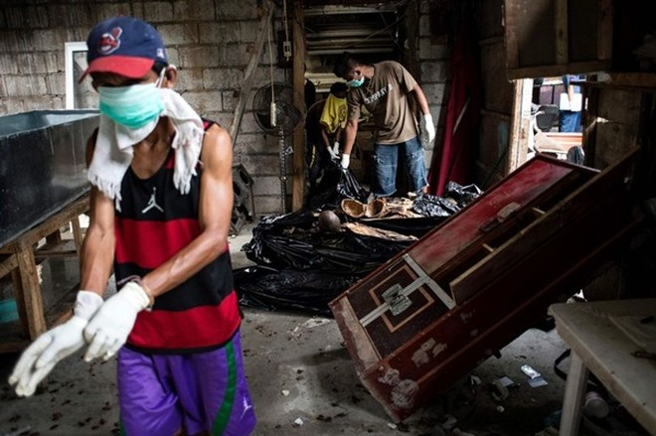 Xác chết quá tải, không có người nhận trong nhiều nhà xác Philippines ảnh 2